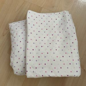 Laura Ashley Twin Fitted Sheet Pillow Case